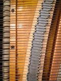 钢琴丝 免版税库存照片