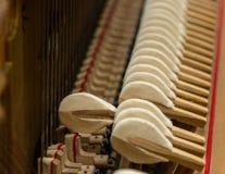 钢琴机制 免版税库存照片