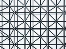 钢结构织法样式建筑学细节建筑 免版税库存图片