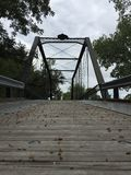 钢琴桥梁 库存图片