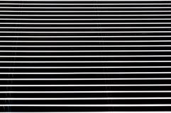 钢黑白条纹 免版税库存图片