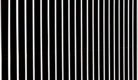 钢黑白条纹 图库摄影