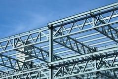 钢建筑框架 免版税图库摄影