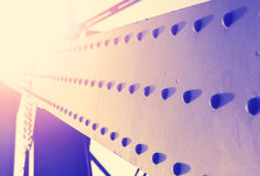 钢建筑葡萄酒五颜六色的抽象背景与 免版税库存照片