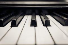 钢琴钥匙 库存照片