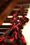 钢琴领带 免版税库存图片