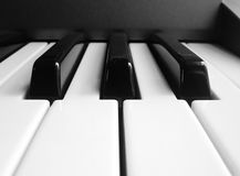 钢琴 免版税图库摄影