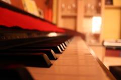 钢琴perspectiva透视 免版税库存照片