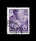 钢Schmelzer,五年计划serie,大约1957年 免版税库存图片