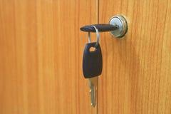 钥匙。 库存图片