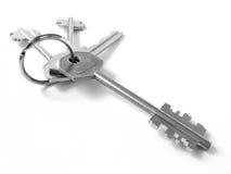钥匙串 免版税库存图片