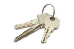 钥匙串 库存图片