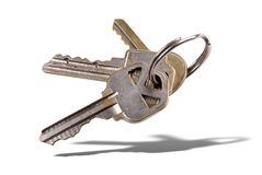钥匙圈 库存图片