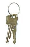 钥匙圈 免版税库存图片