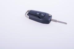钥匙或汽车钥匙与遥控在背景 库存图片