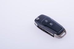 钥匙或汽车钥匙与遥控在背景 免版税库存图片