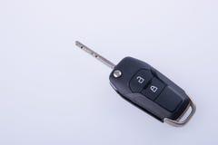 钥匙或汽车钥匙与遥控在背景 免版税库存照片