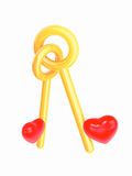 钥匙是心脏 皇族释放例证