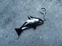 钥匙链形成海豚 库存图片