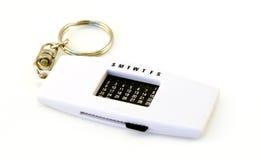 钥匙链日历 图库摄影