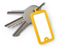 钥匙链 向量例证