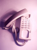 钩电话 库存图片