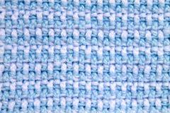 钩编编织物样式背景前面和后面圈双重钩针编织交替 库存照片