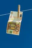 洗钱。 库存图片