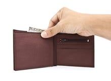 钱包。 库存照片