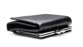 黑钱包-储蓄图象 库存图片