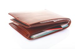 钱包 免版税库存照片