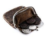 钱包x 库存图片