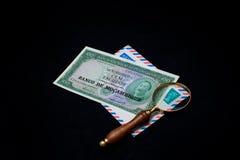 钱币学 库存图片