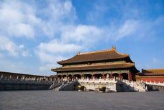 钱Qing宫殿 免版税库存照片