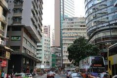 钳子lau在香港湾仔 免版税库存照片