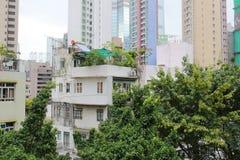 钳子lau老房子在香港在2017年 图库摄影