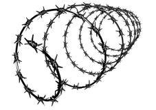 铁丝网篱芭保护物产 免版税图库摄影