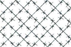 铁丝网篱芭样式 图库摄影