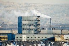 铁冶金工厂钢 免版税库存照片