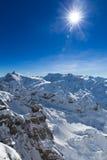 从铁力士峰的看法南部的 免版税图库摄影