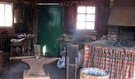 铁匠商店 库存照片