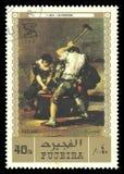 铁匠弗朗西斯科de Goya 免版税库存照片