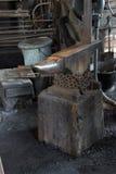 铁匠的工具 免版税库存图片