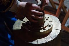 铁匠铸造的纪念品硬币 免版税库存图片