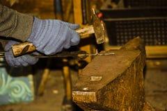 铁匠 免版税库存照片