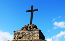铁十字架 免版税库存照片