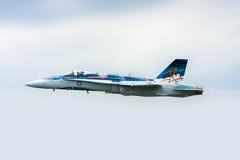 大黄蜂喷气式歼击机 图库摄影