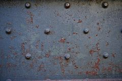 铁和螺栓 免版税库存图片