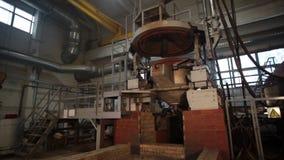 铁和钢厂金属熔炼 影视素材