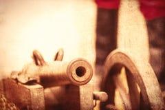 铁大炮 图库摄影